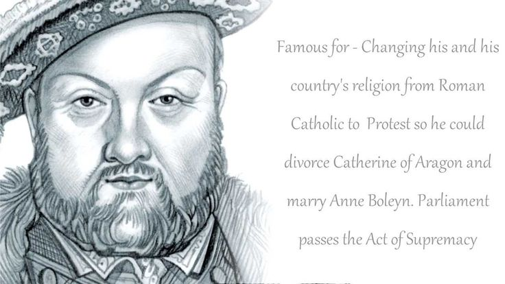 Henry VIII.. Born: June 28, 1491.. Died: January 28, 1547.. Spouse: Catherine Parr (m. 1543–1547), Catherine Howard (m. 1540–1541), Anne of Cleves (m. 1540–1540), Jane Seymour (m. 1536–1537), Anne Boleyn (m. 1533–1536), Catherine of Aragon (m. 1509–1533)... Children: Elizabeth I of England, Mary I of England, Edward VI of England, Henry FitzRoy, 1st Duke of Richmond and Somerset, Henry, Duke of Cornwall... Parents: Elizabeth of York, Henry VII of England