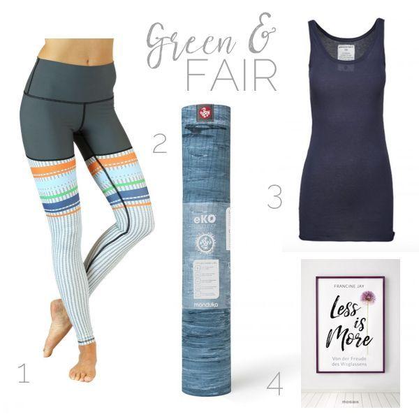 Editors Pick Leggings Von Yoga Democracy Yoga Kollektion Von Armed Angels Less Is More Von Francine Jay Yoga Kleidung Ayurveda Yoga