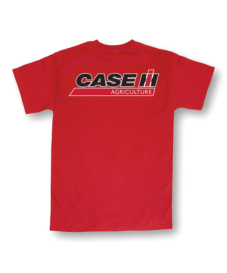 Red 'Case IH Agriculture' Tee - Men's Regular & Big