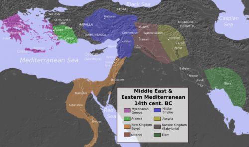 La guerre de Troie et la chute des empires de l'âge du bronze : ce n'était pas la faute d'Hélène, mais du changement climatique ?