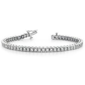 Diamant Armband aus 585er Weißgold (1.00 Karat). Diamant Armband ist für nur 2299.00 Euro bei www.juwelierhausabt.de erhältlich.