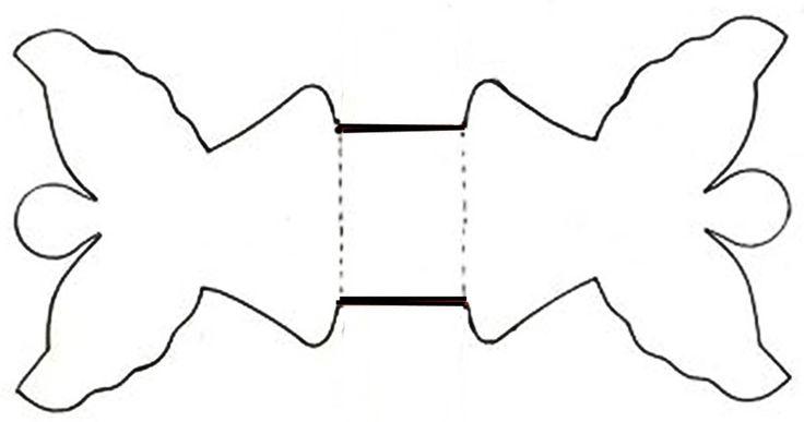 Kétféle angyalkás - papírból kivágható - szalvétagyűrű látható az alábbi képeken. A csatolt sablonok alapján könnyen elkészíthetők. Mintás...