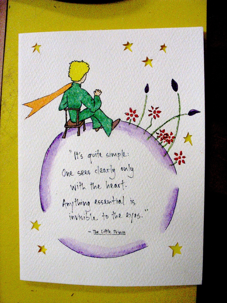 the little prince essay Reflection paper (the little prince) the little prince led the way and they were able to find it after a hundred miles the little prince essay sintesis.
