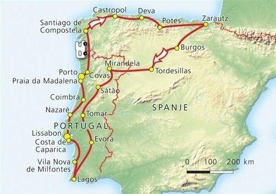 Spanje Portugal