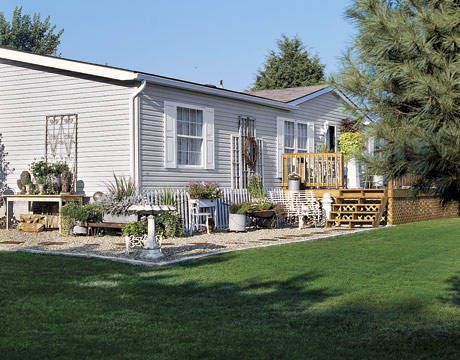 Can you park a mobile home on your own land?