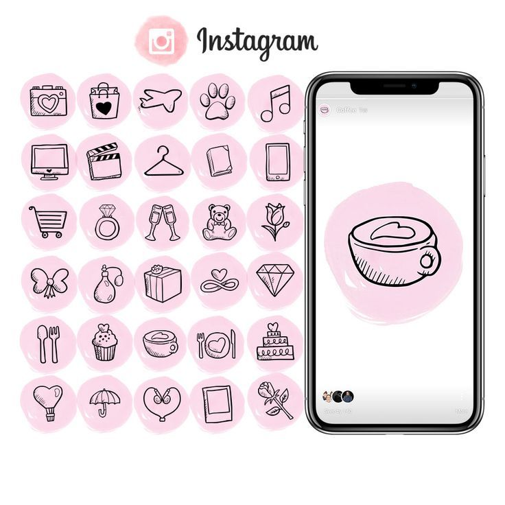 Bundle Of 38 Instagram Story Highlights Icons Ready To Use Etsy Instagram Highlight Icons Instagram Story Instagram Icons