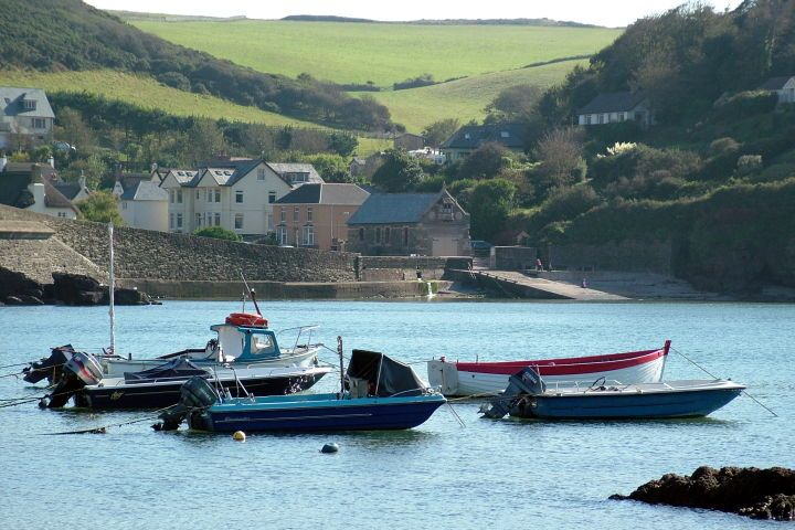 Hope Cove South Devon - where my Dad's family is from