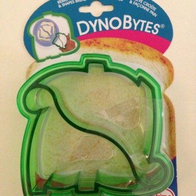 Dinosaur Sandwich Cutter http://littlebentoworld.com/shop/sandwich-cutters/dinosaur-sandwich-cutter/