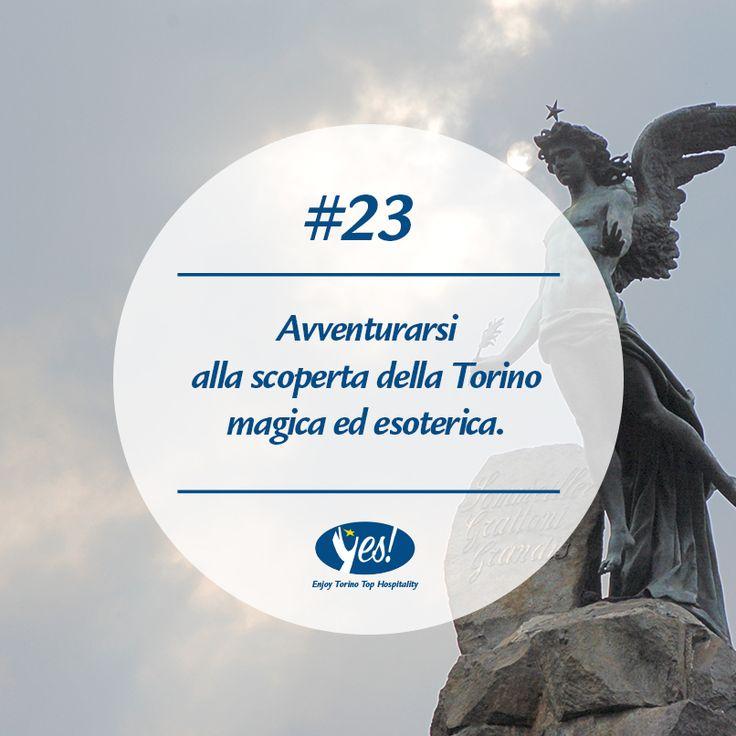 Un altro lato di #Torino da scoprire!   #magia #turin