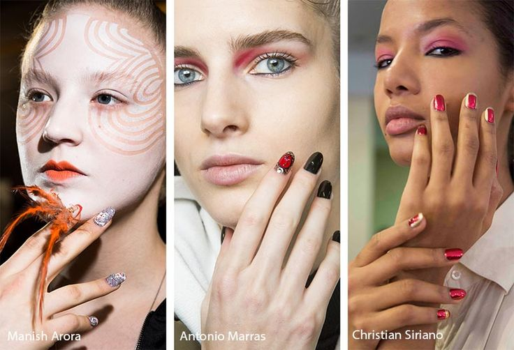 Fall/ Winter 2018,2019 Nail Trends Accented Nails Designs