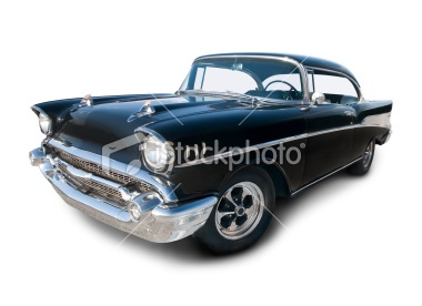 Chevrolet Belair from 1957 Royalty Free Stock Photo