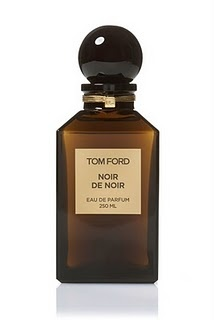 """Noir de Noir by Tom Ford """"A dark chypre oriental, this scent opens with an earthy mantle of richly woven saffron, black rose and black truffle, with hints of floralcy. Underneath, vanilla, patchouli, oud wood and tree moss soften the intensity, making the scent a sensual experience."""""""