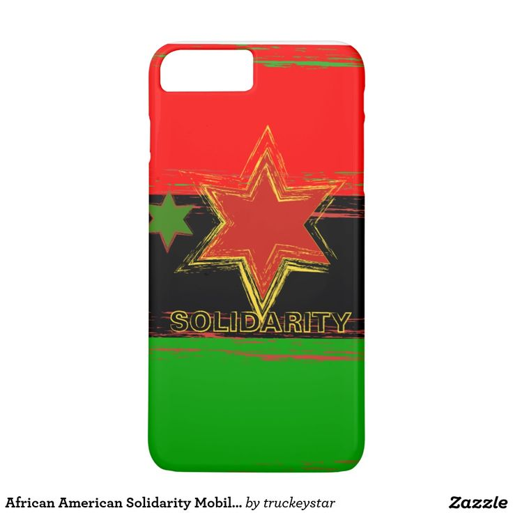 African American Solidarity Mobile Phone Covers