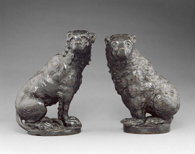 Spencer Alley: December 2015: Renaissance Dog and Bear at Metropolitan Museum c.1600