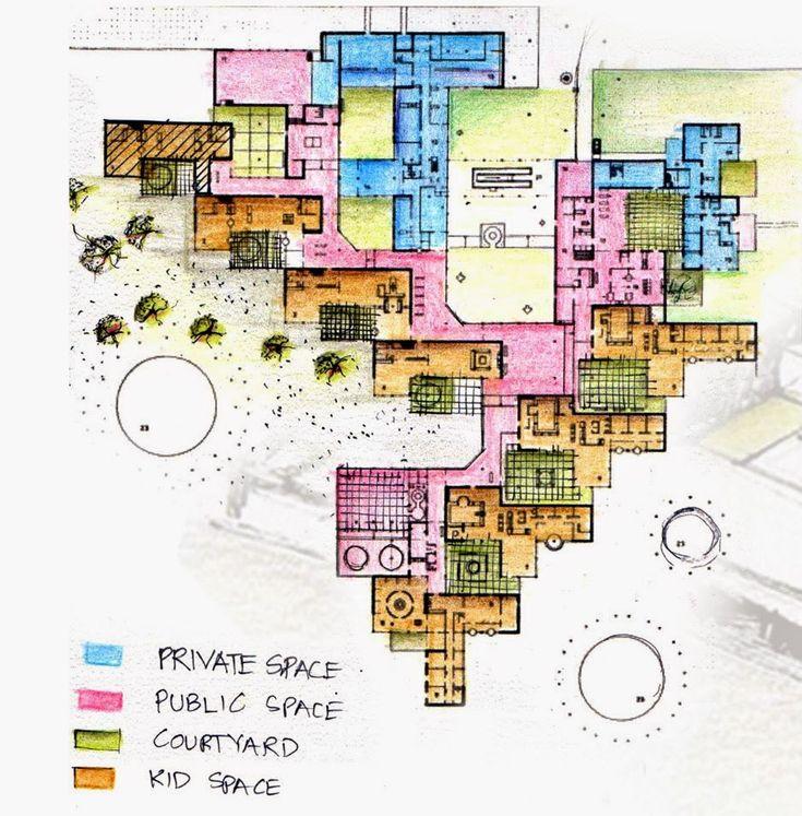 Master Plan Drawings: Case Study: Amsterdam Orphanage / Aldo Van Eyck