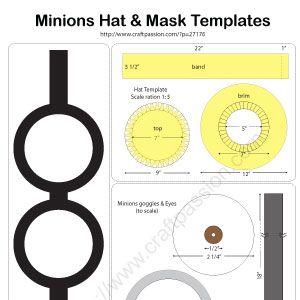 minions-hat-templates