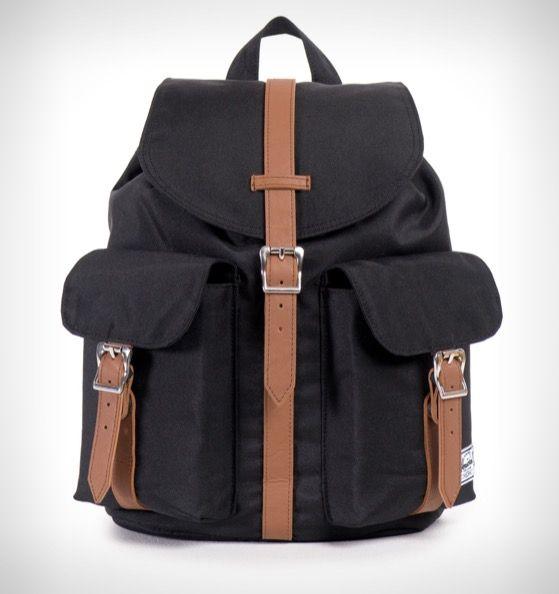 Herschel Supply Co. Dawson Women's Backpack Black/Tan PU - Rushfaster.com.au Australia