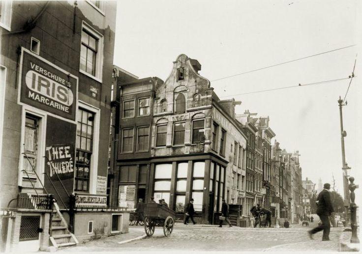 Amsterdam, KortePrinsengracht-Haarlemmerstraat_mei1906
