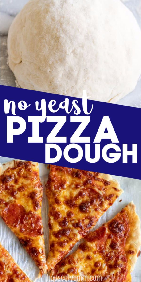 No Yeast Pizza Dough Recipe No Yeast Pizza Dough Food
