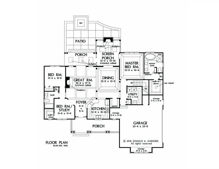 The Anna Home Plan 1426 Is Now Available! Rustic Details Compliment This  Efficiently Designed Home