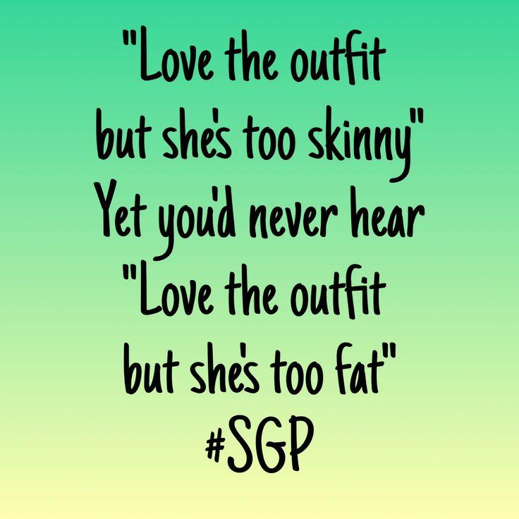 Skinny Girl Problems