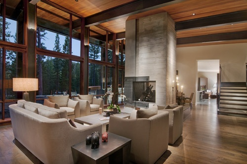 Living Room - contemporary - living room - sacramento - Ward-Young Architecture & Planning