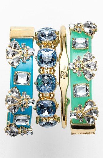 Pretty stack of bracelets http://rstyle.me/n/hhgm5nyg6