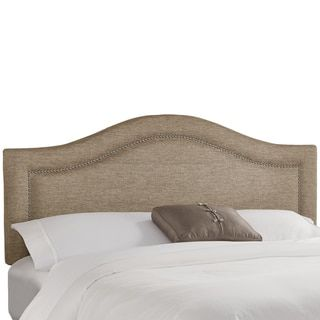 Skyline Furniture Groupie Gunmetal Inset Nail Button Headboard - 17923816 - Overstock.com Shopping - Big Discounts on Skyline Furniture Headboards
