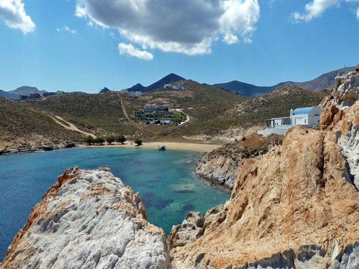 Agios Sostis Beach, Serifos #mysteriousgreece
