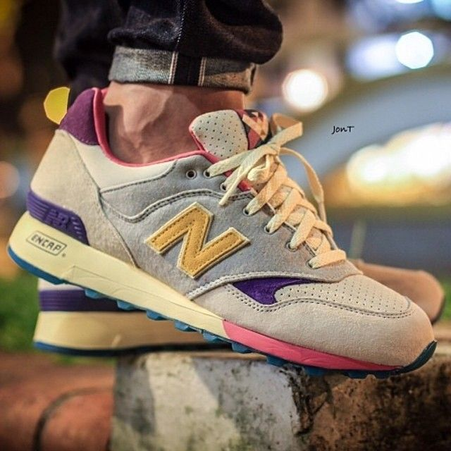 New Balance retro colors