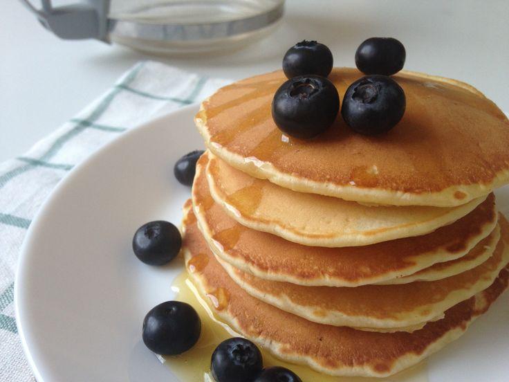 """Американские блинчико-оладушки """"Панкейки"""" — отличная идея для завтрака. Сразу…"""