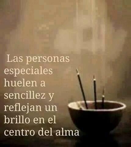 Las personas especiales...: