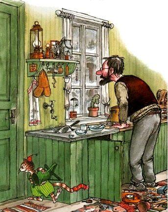 Свен Нурдквист. Сказка про рождество Рождество в домике Петсона