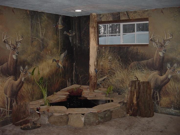 Outdoorsman Man Cave Decor : Gun room masonry things we built pinterest caves