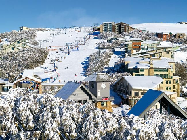 Mt Buller, Victoria Australia - I worked here for a summer (during their winter!)