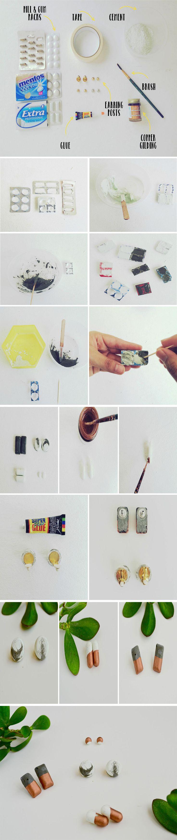 DIY Cement Studs                                                       …