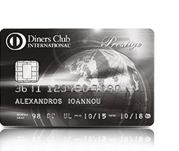 Diners Club International Prestige Greece | Alpfa Bank 361112