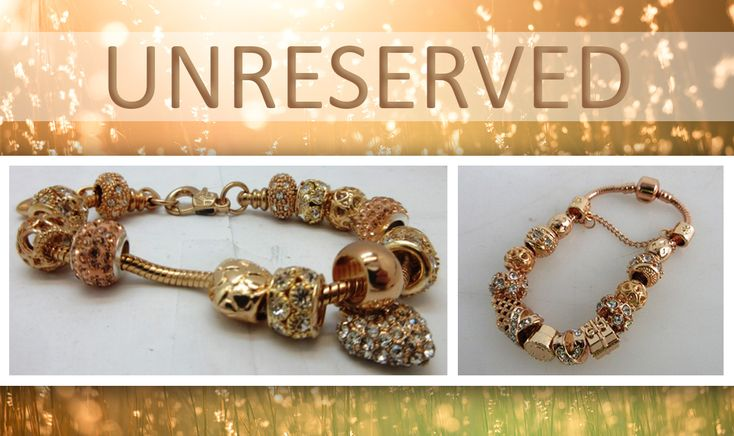 Saturday at 10:00 am‼️  Stunning ladies bracelets with white and champagne coloured topaz charms plus rings, necklaces and much more in the UNRESERVED Fashion Jewellery Auction