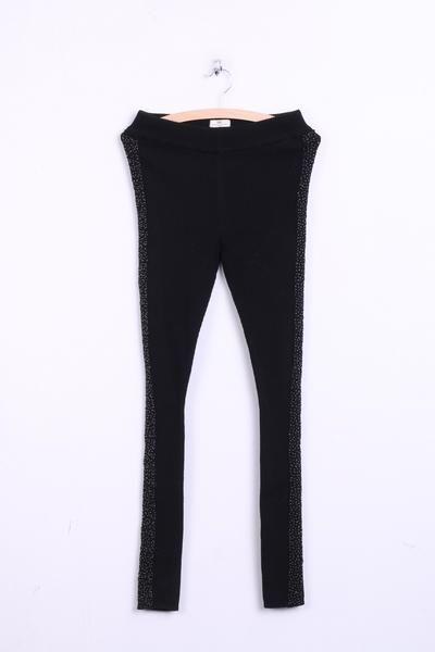 DAY Birger et Mikkelsen Womens Trousers S Leggings Black Beads - RetrospectClothes