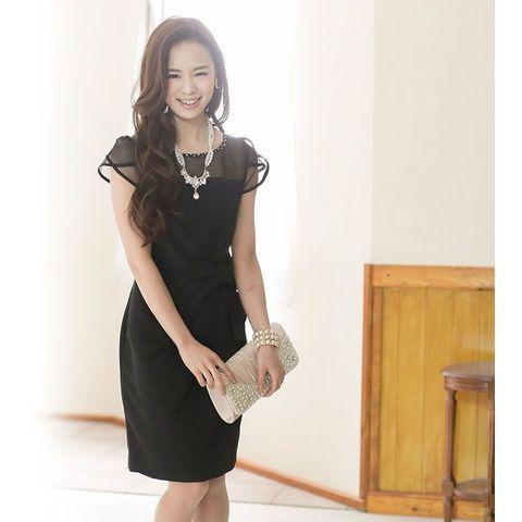 結婚式のお呼ばれドレス♡黒コーデでおしゃれにきめるアイデアを