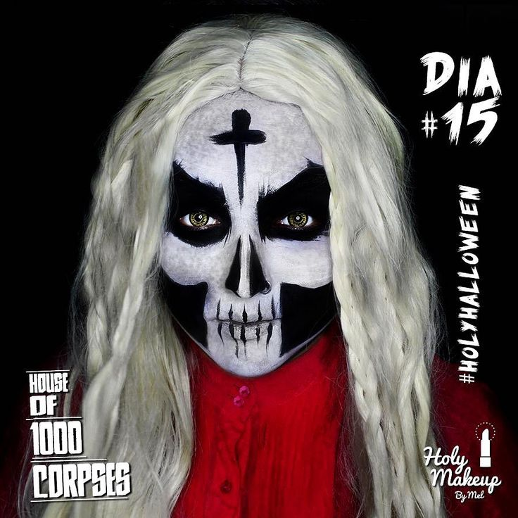 DÍA 15 #HolyHalloween  OTIS / House of 1000 Corpses   Productos: Lentes de contacto: Geo Colors -  Dolly Brown Aquacolor Negro  Blanco. . #halloweenmakeup #halloween  #halloweencostume #makeup #mua #art #horror #horrormovie #otis #houseof1000corpses #costume #cosplay #wig #contactlens #instadaily #spooky #maquillaje #fantasymakeup