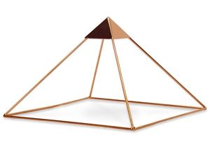 9 Inch Copper Meditation Pyramid with Capstone