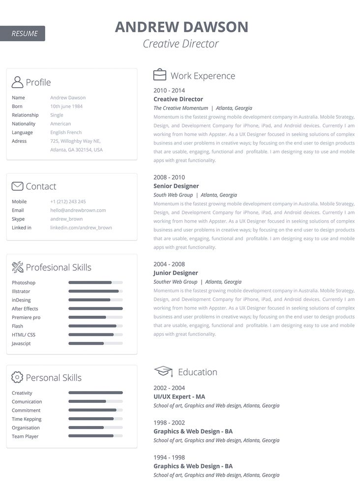 31 best Resume images on Pinterest Architecture, Design and Good - ux designer resume
