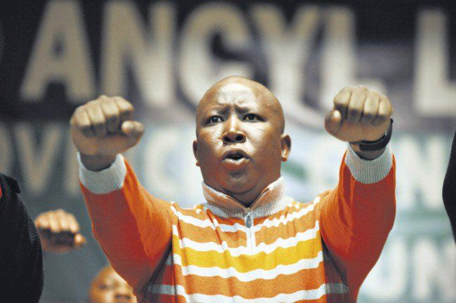 Anarchy or Land Reform Warns Malema