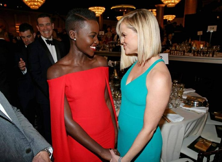 Lupita Nyong'o and Reese Weatherspoon
