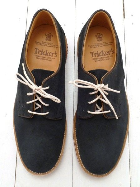 Love when men wear these with their jeans rolled up (no socks). Biddy Craft