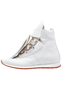 Vivienne Westwood High-top trainers - white £375.00 #TopRevews womensfashion #Sale