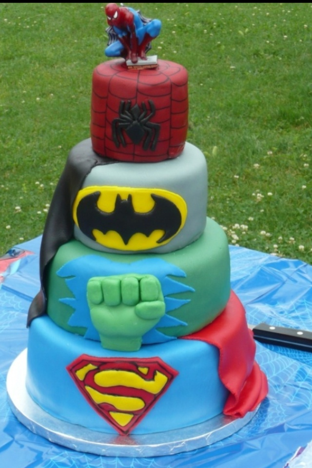 22 best Super Hero Cakes images on Pinterest Birthday ideas