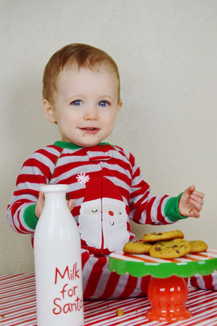 Toddler Christmas pictures