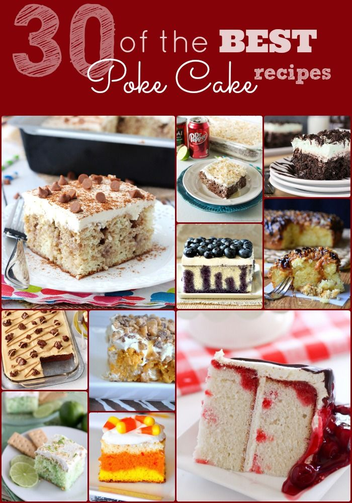 30 of the Best Poke Cake Recipes - Mommy Envy